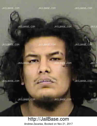 ANDREW ZACARIAS mugshot picture