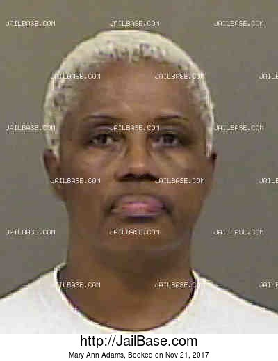 MARY ANN ADAMS mugshot picture