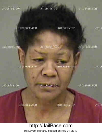 IRIS LAVERN RICHARD mugshot picture