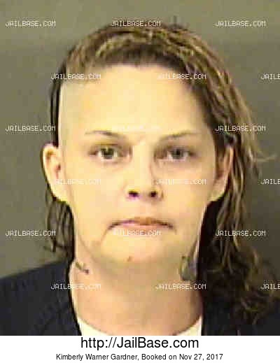 KIMBERLY WARNER GARDNER mugshot picture