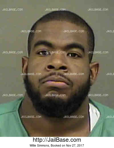 WILLIE SIMMONS mugshot picture