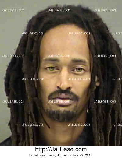 LIONEL ISAAC TOMS mugshot picture