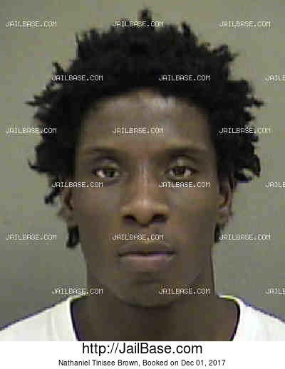 NATHANIEL TINISEE BROWN mugshot picture
