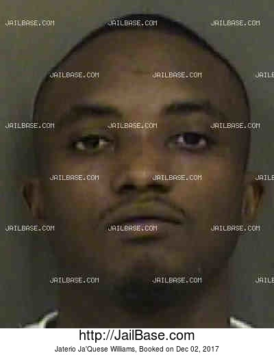 JATERIO JA'QUESE WILLIAMS mugshot picture