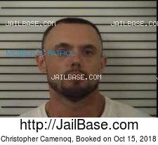 Christopher Camenoq mugshot picture