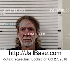 Richard Yojesubux mugshot picture
