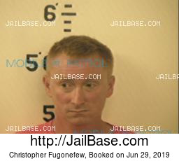 Christopher Fugonefew mugshot picture