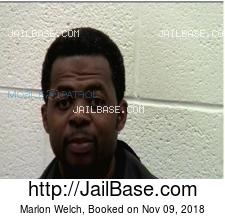 Marlon Welch mugshot picture