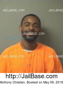 Anthony Christian mugshot picture