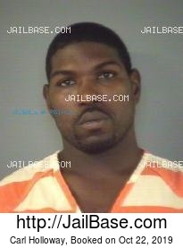 Carl Holloway mugshot picture