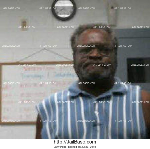 Larry Pope mugshot picture