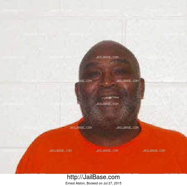 Ernest Alston mugshot picture
