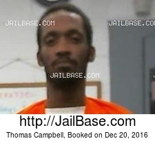 Thomas Campbell mugshot picture