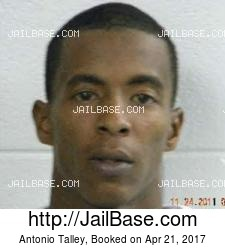 Antonio Talley mugshot picture