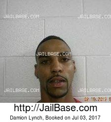 Damion Lynch mugshot picture