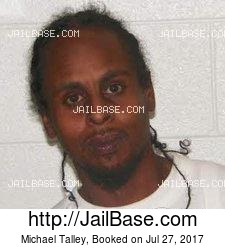 Michael Talley mugshot picture