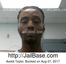 Aarick Taylor mugshot picture