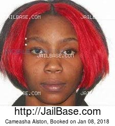 Cameasha Alston mugshot picture