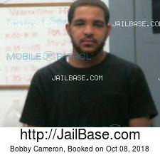 Bobby Cameron mugshot picture