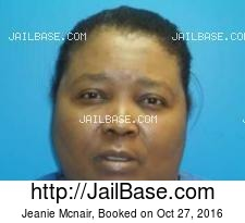 Jeanie Mcnair mugshot picture