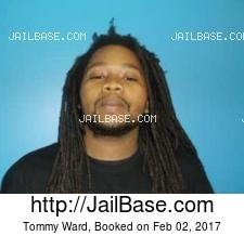 Tommy Ward mugshot picture