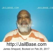 James Shepard mugshot picture