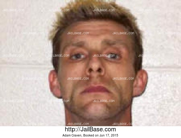Adam Craven mugshot picture