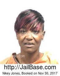 Nikey Jones mugshot picture