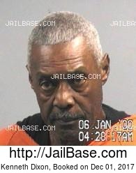 Kenneth Dixon mugshot picture