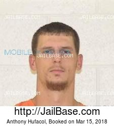 Anthony Hufacol mugshot picture