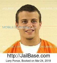 Larry Ponce mugshot picture
