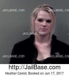 Heather Carroll mugshot picture