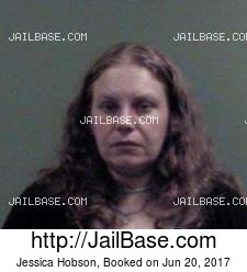 Jessica Hobson mugshot picture