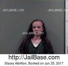 Stacey Albritton mugshot picture