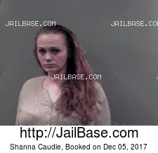 Shanna Caudle mugshot picture