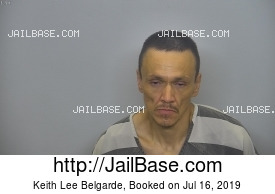 KEITH LEE BELGARDE mugshot picture