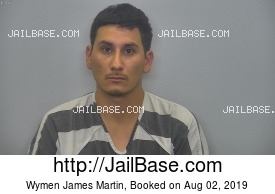 WYMEN JAMES MARTIN mugshot picture