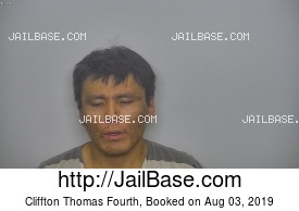 CLIFFTON THOMAS FOURTH mugshot picture