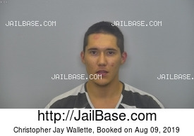 CHRISTOPHER JAY WALLETTE mugshot picture