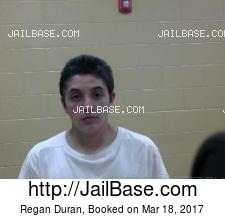 Regan Duran mugshot picture
