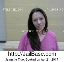 Jeanette True mugshot picture