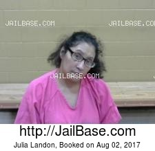 Julia Landon mugshot picture