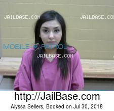 Alyssa Sellers mugshot picture
