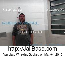 Francisco Wheeler mugshot picture