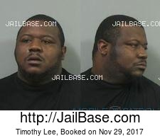 Timothy Lee mugshot picture