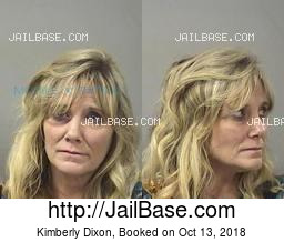 Kimberly Dixon mugshot picture