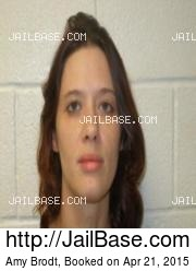 Amy Brodt mugshot picture