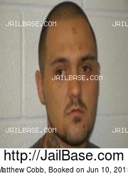 Matthew Cobb mugshot picture