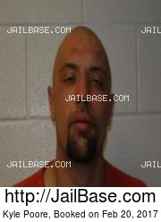 Kyle Poore mugshot picture