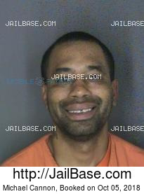 michael cannon mug shot image